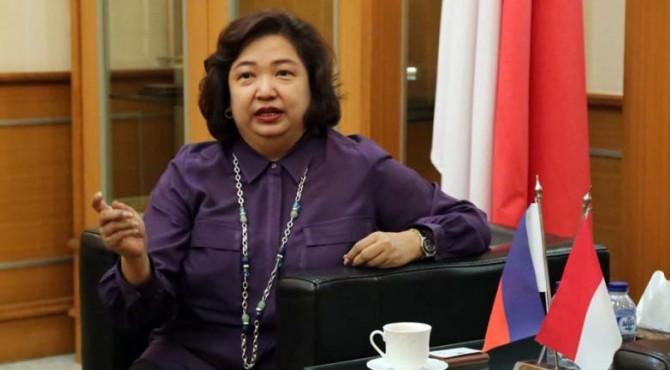 Duta Besar Filipina untuk Indonesia Maria Lumen Isletta