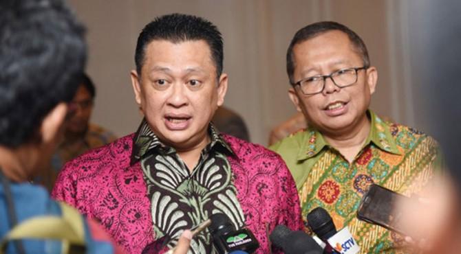 Ketua DPR RI, Bambang Soesatyo