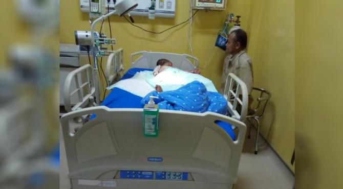 Korban mendapat perawatan medis