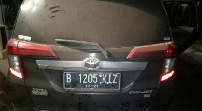 Mobil Curian yang Diamankan Polisi Dharmasraya