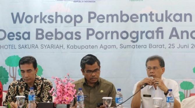 Workshop membangun sistem perlindungan anak oleb KPPPA