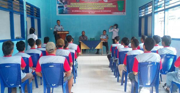 Kalapas berikan arahan pada narapidana peserta pelatihan