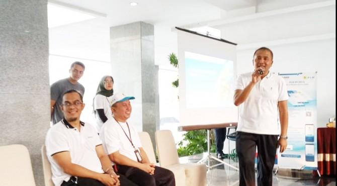 Sosialisasi GM UIW Sumbar ke Bank Indonesia, Jum'at (13/9)