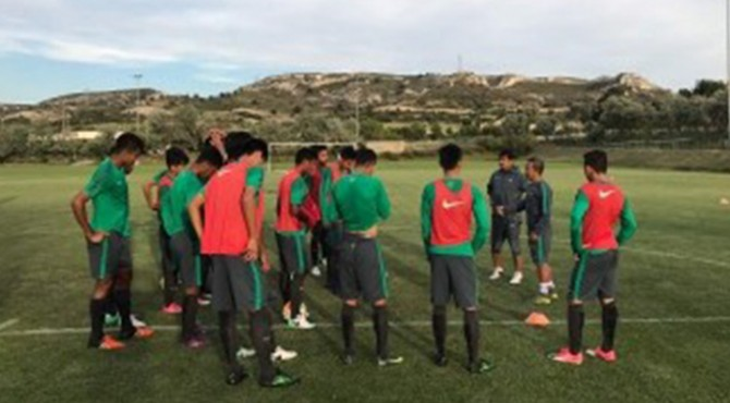 Timnas U-19 di Marseille