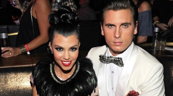 Kourtney Kardashian dan Scott Disick