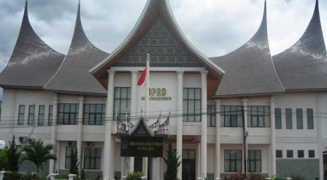 Kantor DPRD Kota Payakumbuh.