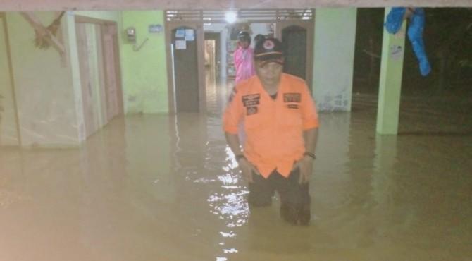 Kondisi rumah warga di Pessel terendam banjir