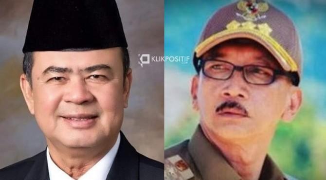 Wakil Gubernur Sumbar Nasrul Abit dan Bupati Pesisir Selatan Hendrajoni
