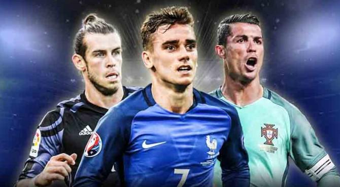 Bale, Grizmann dan Ronaldo Tiga Nominasi Pemain Terbaik Eropa