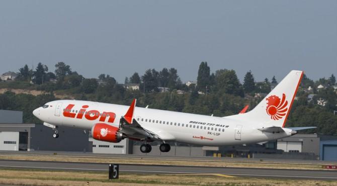 Pesawat Boeing 737 Max 8 Lion Air