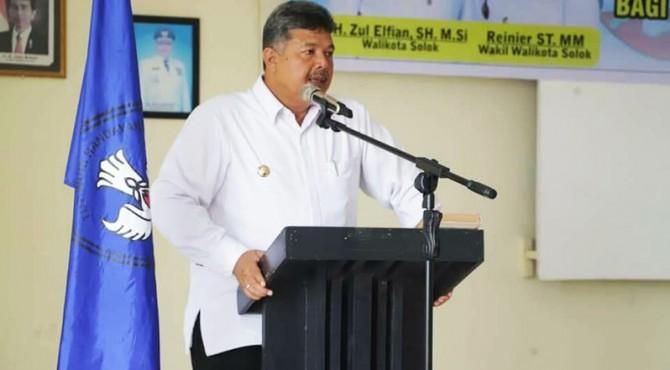 Wako Solok Zul Elfian minta masyarakat proaktif mencegah dan memerangi penyalahgunaan dan peredaran gelap narkoba