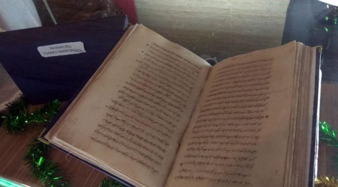 Naskah Asli Tuanku Iman Bonjol Dipajang saat Rakor Arsip Nasional di Padang