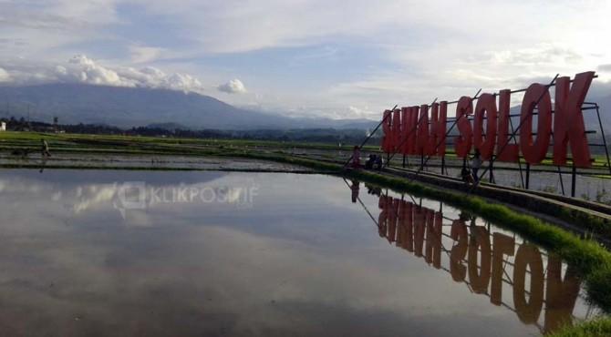 Destinasi Wisata Sawah Solok.