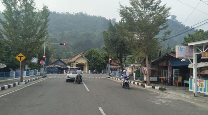 Pemandangan di salah satu sudut Kota Painan, Pessel
