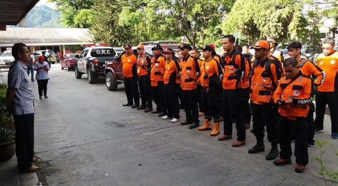 Puluhan anggota TRC ini nantinya akan bergabung dengan Pemko Padang