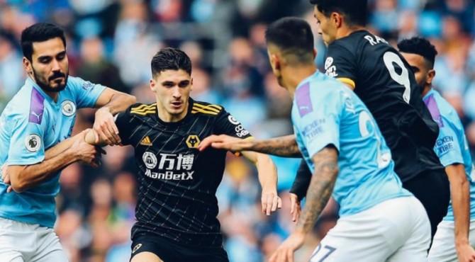 Manchester City takluk dari tamunya Wolves