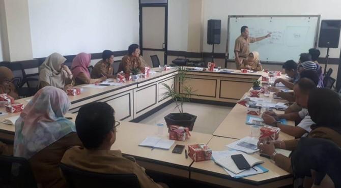 Rapat koordinasi antar OPD di lingkungan Pemko Payakumbuh.