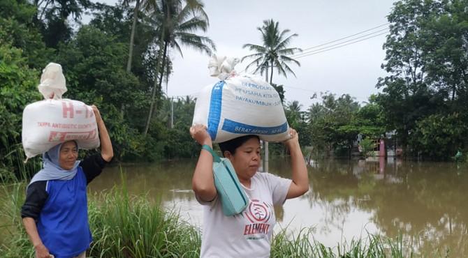 Banjir di Limapuluh Kota, Selasa (10/12/2019)