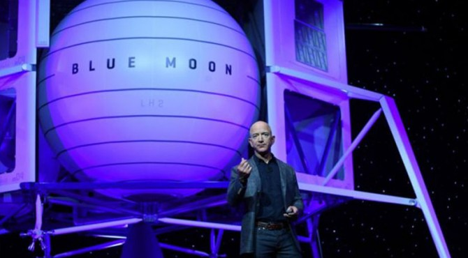 Pendiri Blue Origin, Jeff Bezos