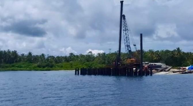 Pelabuhan Labuan bajau Siberut Utara, Kepulauan Mentawai