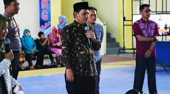 Wawako Solok, Reinier buka Bintang Sains 2019 tingkat kota Solok.