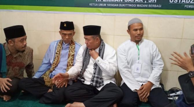 UAS bersama Nasrul Abit dan Erman Safar
