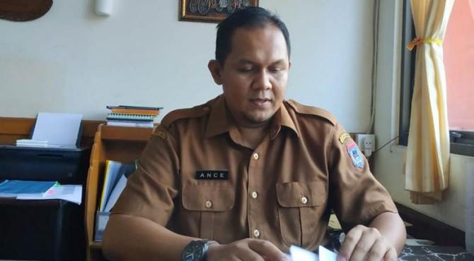 Kepala Bidang Kelembagaan Dinsos Payakumbuh, Ance Alfiando.