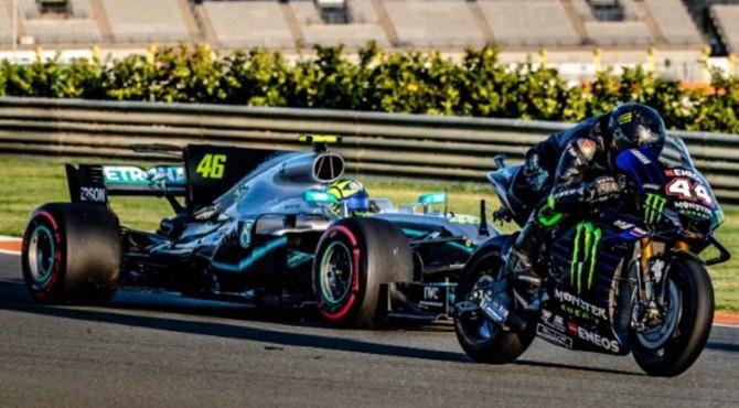 Rossi Vs Hamilton