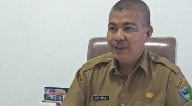 Kepala Badan Kepegawaian dan Pengembangan Sumber Daya Manusia (BKP-SDM) Pesisi Selatan, Ahda Yanuar