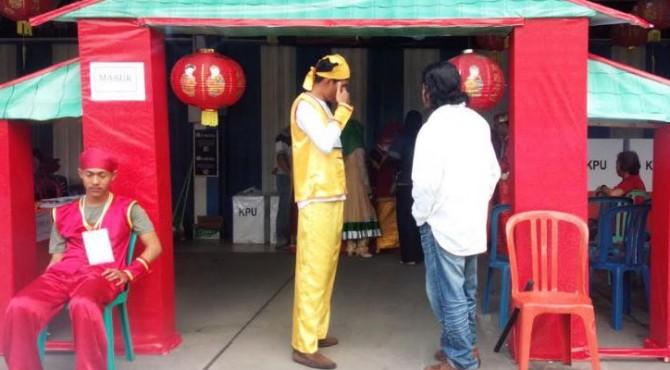 TPS bernuansa etnis Tionghoa di Kota Padang