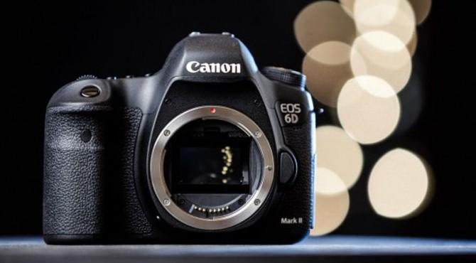 Penampakan Canon EOS 6D Mark II