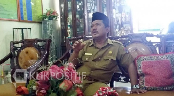 Kepala Sekolah SMPN 1 Kota Payakumbuh, Defi Marlitra.