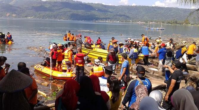 Ratusan personil masih mencari warga Saniangbaka yang dilaporkan hilang
