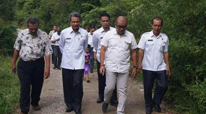 Tim Audiensi Dirjen Otonomi Daerah Kemendagri berkunjung ke Lubuk Sikaping, Kabupaten Pasaman