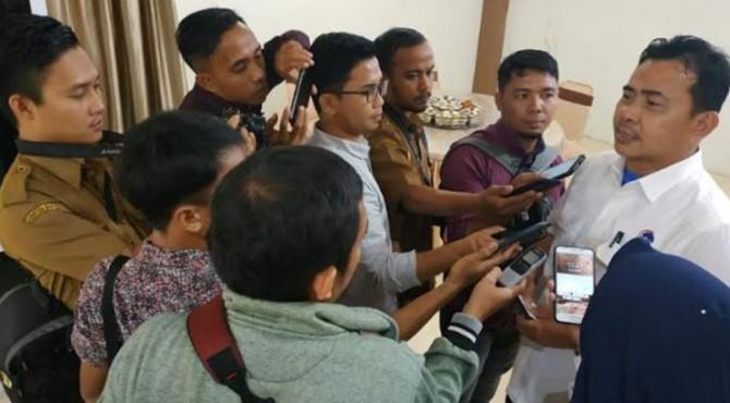 Kosmas Harefa, Direktur Kemenko Maritim dalam persiapan Hari Nusantara.