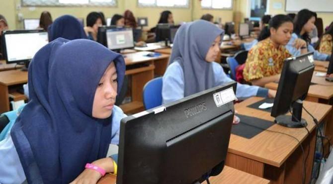 UNBK tingkat SMP lebih siap dibandingkan UN tingkat SMA