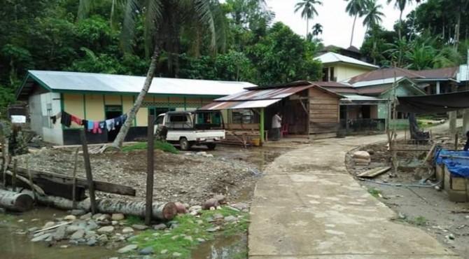 Salah satu kawasan di Jorong Pulau Karam, Kabupaten Solsel.