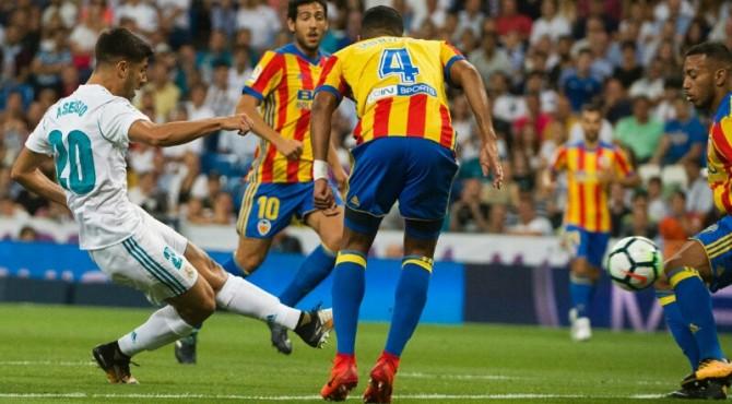 Assensio Menyelamatkan Madrid dari Kekalahan dengan Dua Golnya ke Gawang Valencia