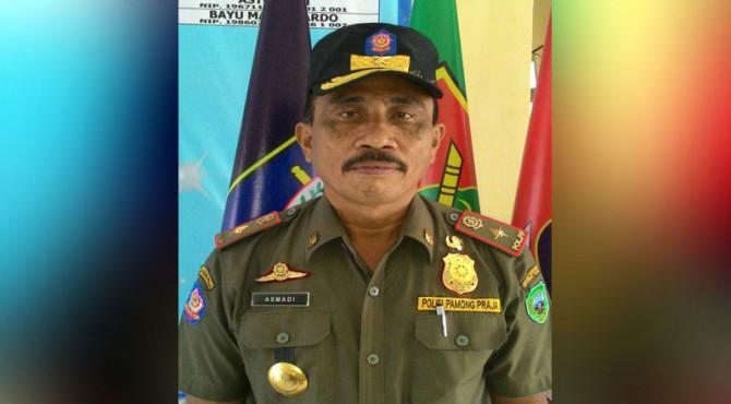 Kepala Satpol PP dan Pemadam Kebakaran Kabupaten Pasaman, Asmadi,