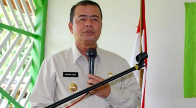 Wakil Gubernur Sumbar, Nasrul Abit.