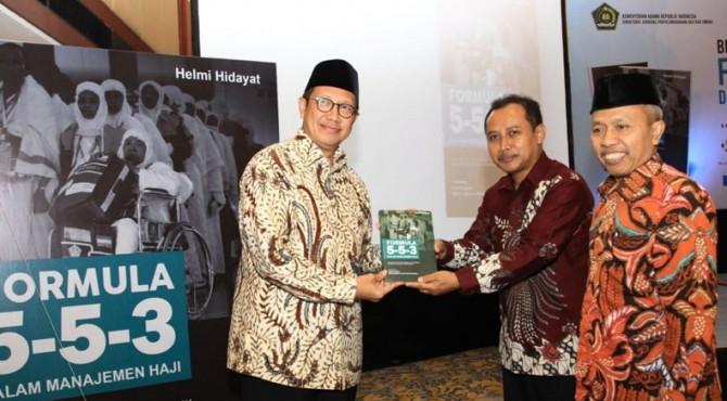 Menag Launching Buku Formula 5-5-3 Manajemen Haji
