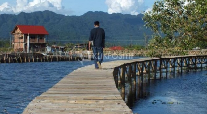 Banto Royo, salah satu objek wisata andalan Agam