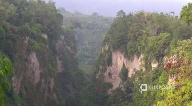 Geopark Ngarai Sianok/Ilustrasi