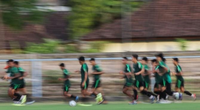 Latihan Timnas U-22