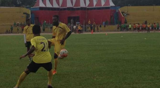 Zokora dalam Latihan Perdana Bersama Semen Padang FC
