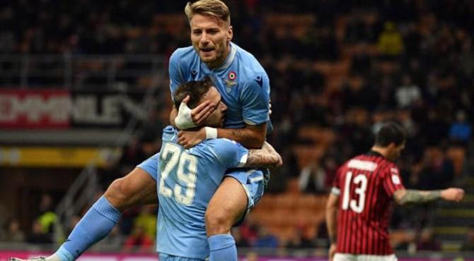 Lazio kalahkan AC Milan