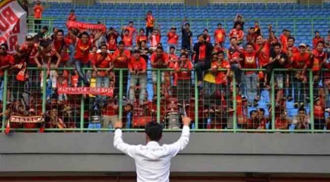 Suporter Semen Padang FC
