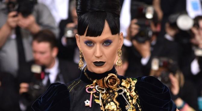 Katy Perry di Met Gala 2016.