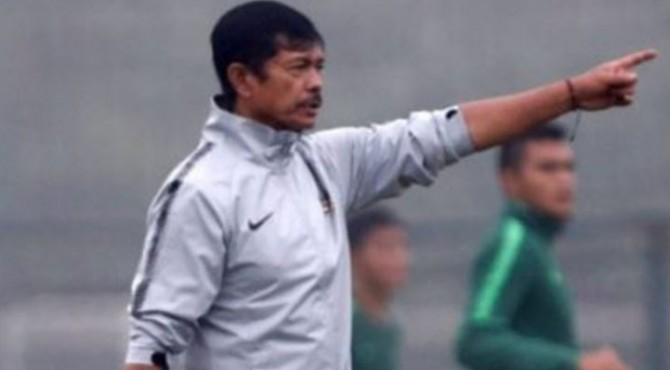 Pelatih kepala tim nasional Indonesia U23, Indra Sjafri