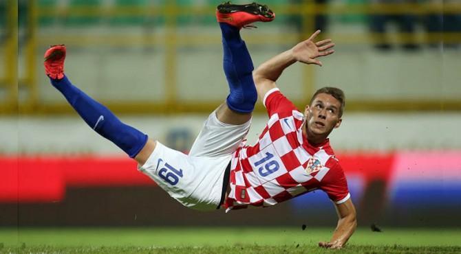 Winger Juventus asal Kroasia, Marko Pjaca yang harus absen 6 bulan karena cedera.